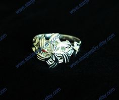 LoTR Nenya galadriel ring of water with silver by StarJewellry, $59.99