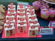 Queen of Hearts Rice Krispie Treats