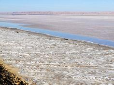 Chott-el-Djerid (salt lake), Tunisia