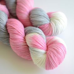 Hand Dyed Sock Fingering Yarn Self Striping by ToilandTrouble, $26.00 oh for the love of yarn I want this