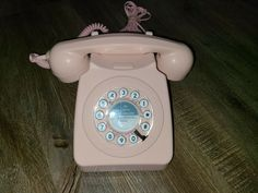 Vintage and Rare Model 746 Pink Digits Desk Telephone Cut Clothes, Fast Weight Loss, Telephone, Landline Phone, Desk, Model, Ebay, Vintage, Rapid Weight Loss