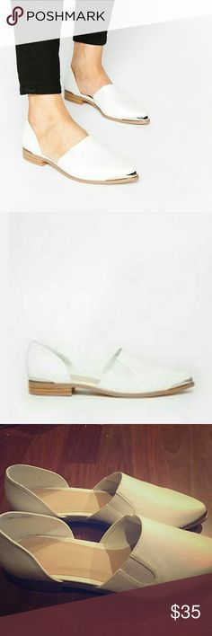 ASOS Maddison Pointed Flat Shoe Size 8 NWOT Maddison Poibted Flat Shoe slightly too large for me ASOS Shoes Flats & Loafers