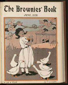 From the Rare Book and Special Collections Division Living In Brazil, Pop Culture Art, Magazine Illustration, American Children, Kids Lighting, African Diaspora, Library Of Congress, Story Inspiration, Brownies