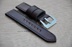 maroon watch strap by CentaurStraps on Etsy Watch Straps, Vintage Fashion, Belt, Watches, Trending Outfits, Unique Jewelry, Handmade Gifts, Leather, Accessories