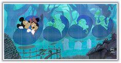 Mickey & Minnie ride the Haunted Mansion! Disney Home, Disney Fun, Disney Mickey, Disney Parks, Disney Movies, Disney Pixar, Walt Disney, Mickey Mouse, Disney Stuff
