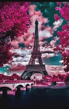Paris in the Spring – Robert Saddler – G… – Galaxy Art Cute Wallpaper Backgrounds, Pretty Wallpapers, Galaxy Wallpaper, Paris Wallpaper Iphone, Pig Wallpaper, Naruto Wallpaper, Kawaii Wallpaper, Wallpaper Wallpapers, Paris Pictures