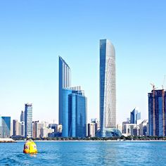 Good morning Abu Dhabi #abudhabi #myabudhabi #simplyabudhabi #we_abudhabi #myuae #uae #emirates #tryitabudhabi #abudhabilife #abudhabievents #skyline by samiralsaleh