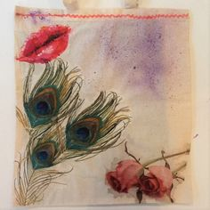 Decoupage na materiale