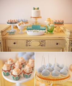Baby shower style