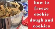 This time of the year, bringing desserts to a holiday party or getting something together quickly for last minute guests are both things that can sneak up on us. For times like these, I like to have some. Frozen Cookie Dough, Frozen Cookies, Sweets Recipes, Just Desserts, Cookie Recipes, Canning Food Preservation, Cookie Crunch, Food Hacks, Food Tips