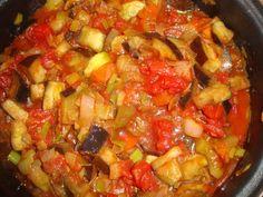 Bucataria cu noroc - Ghiveci de post Noroc, European Dishes, Ratatouille, Romania, Salsa, Veggies, Memories, Ethnic Recipes, Memoirs
