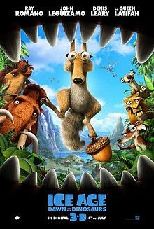 Ice Age: Dawn of the Dinosaurs - could do dino stuff if we watched this version.