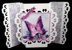Pink Butterfly - CUP864083_543 | Craftsuprint