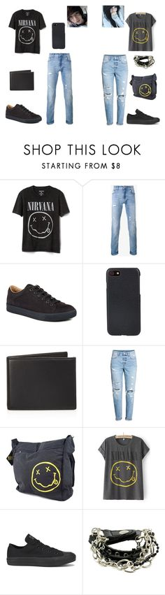"""Twinning...../Casual Date"" by brookelyn96 ❤ liked on Polyvore featuring Gap, Dolce&Gabbana, Lanvin, Shinola, The Men's Store and Converse"