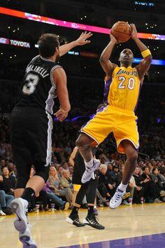 Marco Belinelli vs LA Lakers