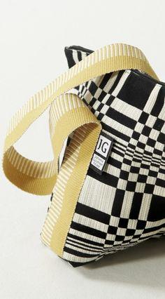 Tetra handbag Johanna Gullichsen fabric www.johannagullichsen.com