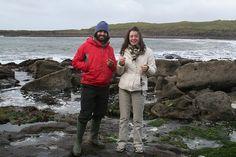 Seaweed harvesting in Ireland
