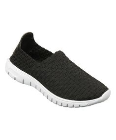 Take a look at this Black Alma Slip-On Shoe on zulily today!
