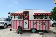 serving cakes from a caravan - Google Search
