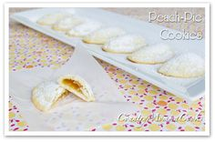 Peach Pie Cookies