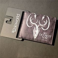 PU Leather Wallet Game of Thrones Short Wallets With Card Holder Men And Women Purse Cartoon Wallet