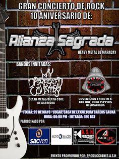 La Encrucijada: 10mo Aniversario de ALIANZA SAGRADA