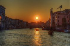 sunset in venice Venice, Celestial, Sunset, Places, Outdoor, Outdoors, Sunsets, Outdoor Games, Outdoor Living