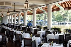 The Loeb Boathouse in Central Park- Restaurant
