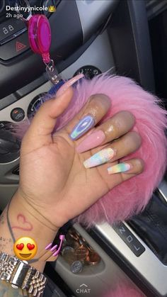 IG: @only1_queenk✨ & my spam plzzzzzz @queenz_bbyg PIN: @dominiquemae390❤️ Follow me sis‼️ Dope Nails, Fun Nails, Matte Nails, Acrylic Nails, Coffin Nails, Acrylics, Acrylic Nail Designs, Nail Art Designs, Nails Kylie Jenner