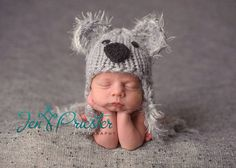NEED THIS FOR BABY M!!!! Sale 20 off now... Baby Koala Bear Hat.. bear hat... by garysangel, $25.60