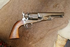 Belgian made replica of a full fluted cylinder Colt 1860. These guns were made…
