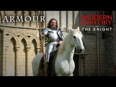 Part Armour: How Do You Wear Medieval Armour? Medieval Life, Medieval Armor, Modern History, Military History, Knight, Armour, Horses, Youtube, Animals