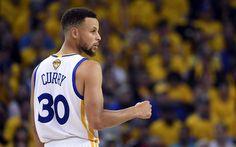 Lataa kuva 4k, Stephen Curry, koripallo tähteä, NBA, Cleveland Cavaliers