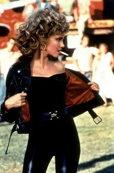 Pin for Later: 450 Pop Culture Halloween Costume Ideas Sandy From Grease Costume Halloween, Last Minute Halloween Costumes, Easy Costumes, Costumes For Teens, Pop Culture Halloween Costume, Movie Costumes, Costume Ideas, Halloween Ideas, Halloween Stuff