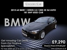 Follow and Like us on @countrycar1  Contact for more details on countrycar@btconnect.com  Call Us: 01926 267813 07441 906677  #bmwnation #bmwclub #bmwi #warwick #usedcars #carsinuk #ukcars #countrycar1 #warwickshire #usedcarsale #cars #car #auto #luxury #turbo #followforfollow #speed #automotive #follow #carlovers #supercar #automobile #caroftheday #tuning #classiccar #drive #stance #amazingcars #drift On Board Diagnostics, Bmw Cars For Sale, Bmw I, Used Bmw, Bmw 1 Series, Car Deals, Car Headlights, Black Doors, Rear Seat