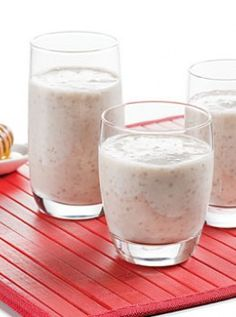 Chia Recipes | Fruit Smoothies with White Chia Seeds