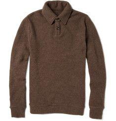 The Elder Statesman Cashmere Rugby Sweater | MR PORTER