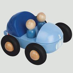 Magneetset Blauwe Cabrio van Janod