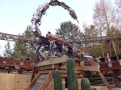 Scorpion Express, Chessington World of Adventure 2014 #ThemesparX #rollercoaster #ride