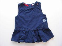 Robe sans manche plissée bleue Cadet Rousselle 1 mois filles in Bébé, puériculture, Vêtements, accessoires, Vêtements filles (0-24mois) | eBay