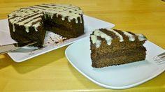 Nutella torta konjac liszttel, egészségesen | Klikk a képre a receptért!