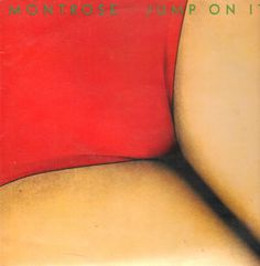Montrose album cover by Storm Thorgerson & Hipgnosis (Jump On It, 1976).