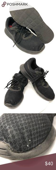 37796639ea0 Nike Tanjun Triple Black Running Shoes 812654-001 Men s Nike Tanjun Triple Black  Running Shoes