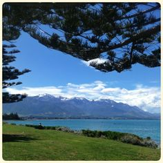 Kaikoura in New Zealand - home of Spey Creek Hunting Lodge.
