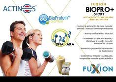 BIOPRO SPORT+ Provee la proteína del más alto valor biológico (Bioproteín+) complementada con Calostro Bovino, Factores de Transferencia Inmunológicos, Inmunoglobulinas (proteínas con acción inmunológica), Actinos (proteína que eleva la capacidad cardiovascular), micronutrientes e incrementadores de tejido muscular.  Pedidos e información para emprender tu negocio Fuxion: (593)0994197973 http://marthazj81.soyfuxion.net/