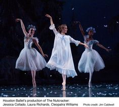 Nutcracker performed by the Houston Ballet...love love this! Always loved the ballet