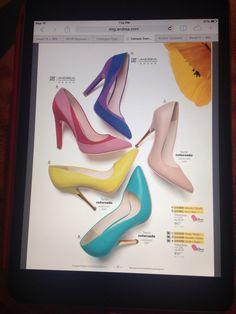Zapatos Andrea - Primavera 2015