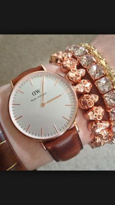 How to style your Daniel Wellington watch #fromwhereistand