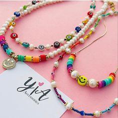 Cute Jewelry, Pearl Jewelry, Diy Jewelry, Beaded Jewelry, Jewelery, Jewelry Making, Beaded Bracelets, Trendy Jewelry, Diy Bracelets Easy