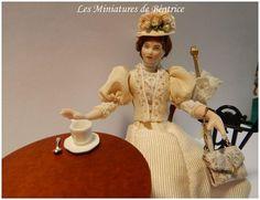 Florine  une parisienne 1900 par Beatrice5804 sur Etsy